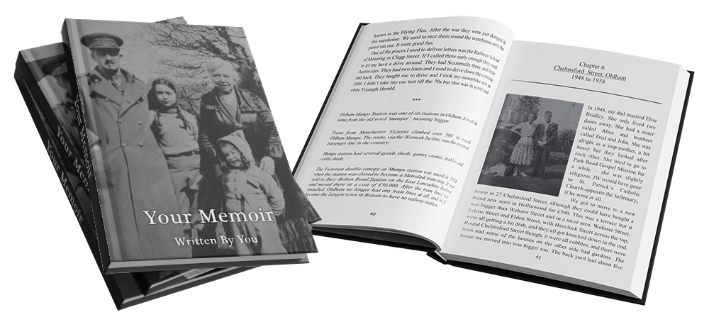 Write your memoir for your loved ones with Elephant Memoirs life story writing