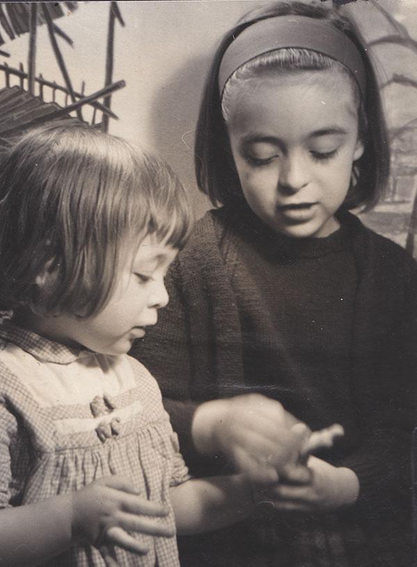 Joss Carpreau life story writer as a child in her memoir